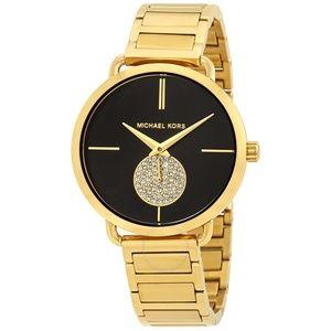 Gold Women Portia Gold-tone Watch Mk3788